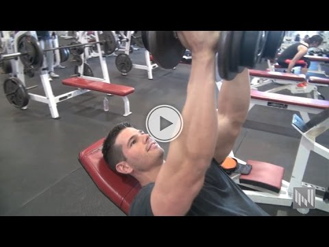 tricep workout finishing move  muscle building workout